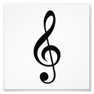 Dreifacher Clefc$g-clef-Musical-Symbol Foto