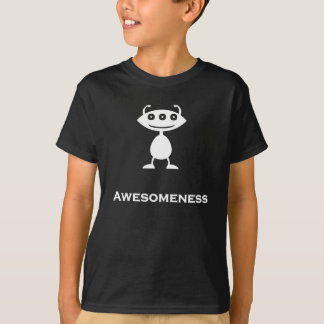 Dreifaches Auge Awesomeness Weiß T-Shirt