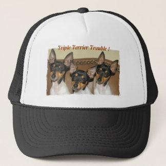 Dreifaches Terrier-Problem Truckerkappe