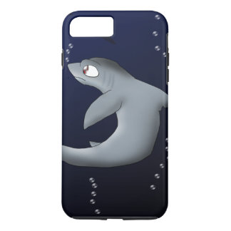 Dreschmaschine-Haifisch iPhone 8 Plus/7 Plus Hülle