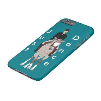 Dressage Grulla Pferd und Reiter Barely There iPhone 6 Hülle