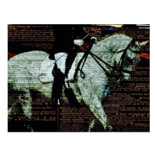 Dressage-Kunst Postkarte