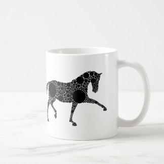 Dressage-Pferdekaffee-Tasse Tasse