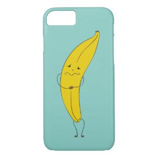 Dressmyphone iPhone 7 trauriger Bananen-Kasten iPhone 8/7 Hülle