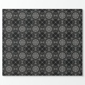 Dritte heilige dimensionalgeometrie #10 geschenkpapier