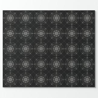 Dritte heilige dimensionalgeometrie #2 geschenkpapier