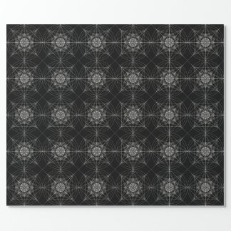 Dritte heilige dimensionalgeometrie #3 geschenkpapier