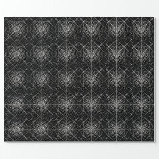 Dritte heilige dimensionalgeometrie #5 geschenkpapier