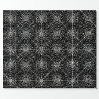Dritte heilige dimensionalgeometrie #7 geschenkpapier