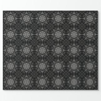 Dritte heilige dimensionalgeometrie #8 geschenkpapier