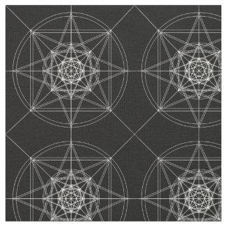 Dritte heilige dimensionalgeometrie (verdoppelt) stoff