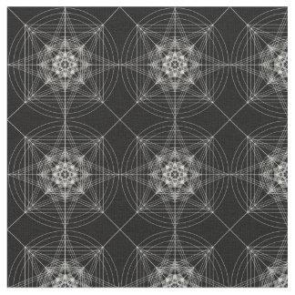 Dritte heilige dimensionalgeometrie (verdreifacht) stoff