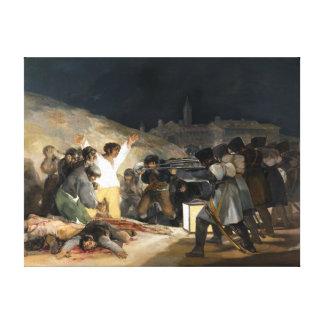 Drittel Francisco de Goya The vom Mai 1808 Leinwanddruck