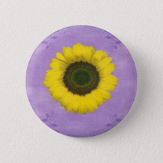 Drittes Chakra Geschenk Runder Button 5,7 Cm