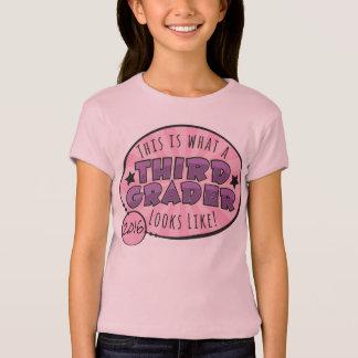 Drittes Grad-Shirt | lila u. rosa T-Shirt