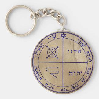 Drittes Pentagramm von Jupiter Standard Runder Schlüsselanhänger