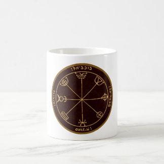 Drittes Pentagramm von Mercury Kaffeetasse
