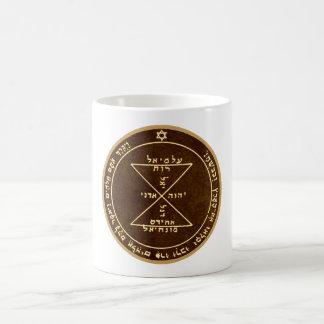 Drittes Pentagramm von Venus Kaffeetasse