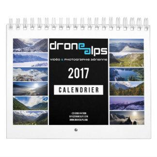 Drohne Alps 2017 Kalender