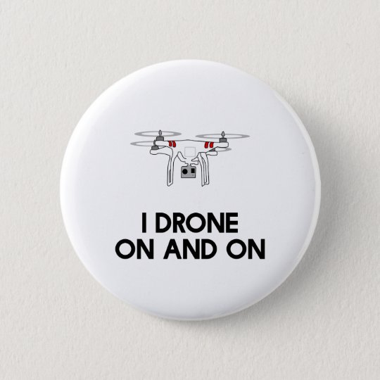 Drohne I in einem fort quadcopter Runder Button 5,1 Cm