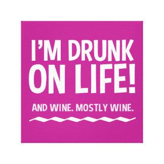 Drôle bu sur la vie… et le vin toiles