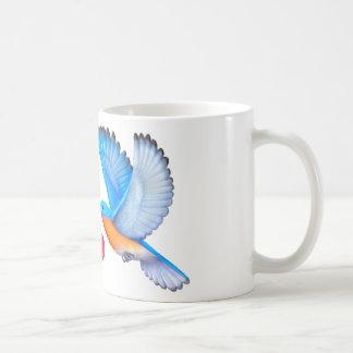 Drossel-Liebe-Glück-Kaffee-Tasse Kaffeetasse