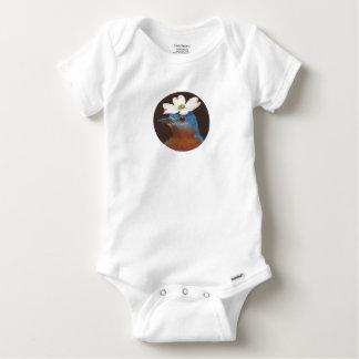 Drossel- und Hartriegelbodysuit Baby Strampler