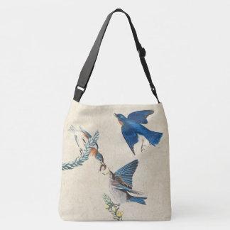 Drossel-Vogel-wild lebende Tiere Audubon Tragetaschen Mit Langen Trägern