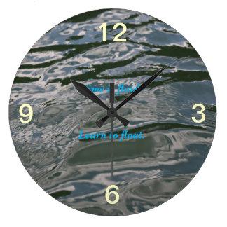 Druck-freie Uhr