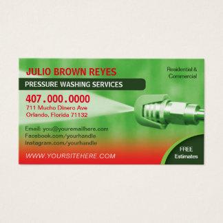 Druck-Reinigung u. Visitenkarte