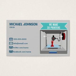 Drucker 3D Visitenkarte