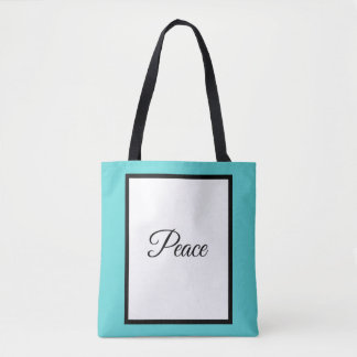 DruckTaschen-Tasche, Frieden Tasche