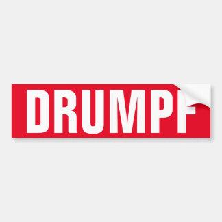 """""""DRUMPF"""" Autoaufkleber: Anti-Trumpf Autoaufkleber"""