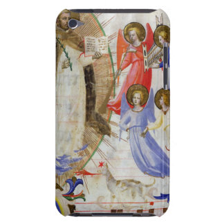 ds 558 f.67v St Dominic avec quatre anges Coque Barely There iPod
