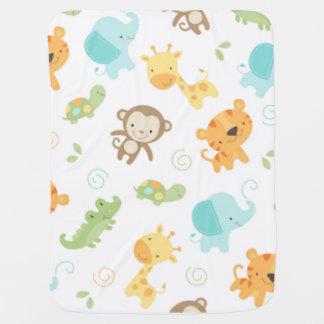 Dschungel-Babys Babydecken