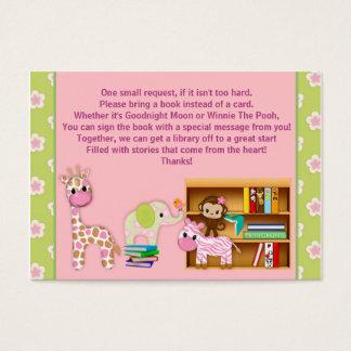 Dschungel-Jill-Buch-Anträge anstelle eines Card#2 Visitenkarte