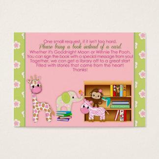 Dschungel-Jill-Buch-Anträge anstelle eines Card#3 Visitenkarte