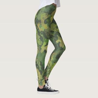 Dschungel-Krieger-Camouflage Leggings