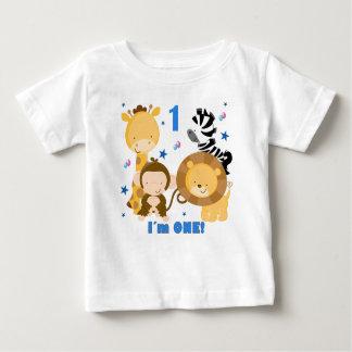 Dschungel-Safari-1. Geburtstags-T - Shirt
