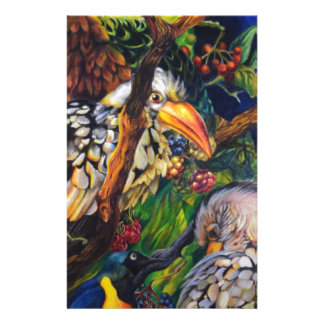 Dschungel-Vögel Briefpapier