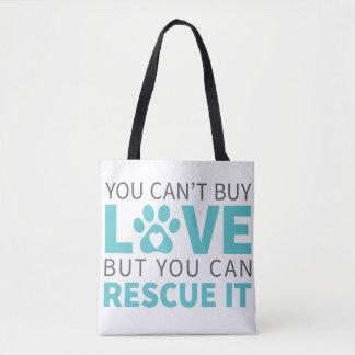DTDR kann Liebe-Taschen-Taschen-Weiß nicht kaufen Tasche