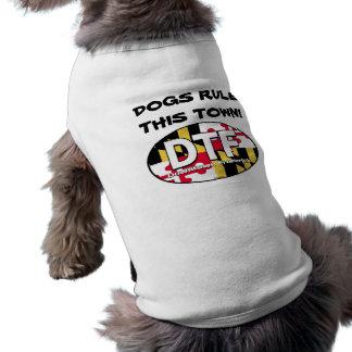 DTF verfolgt Regel dieser StadtHundeshirt Shirt