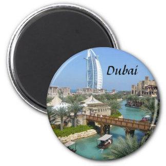 Dubai-Magnet Runder Magnet 5,1 Cm