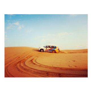 Dubai-Wüsten-Kreuzfahrt Postkarte