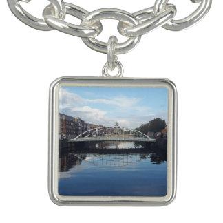 Dublin-Brücken-Landschaftscharme-Armband Armbänder