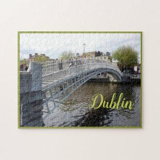 Dublin (Halfpenny-Brücke) mit Text