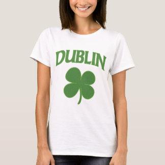Dublin-Iren-Kleeblatt T-Shirt