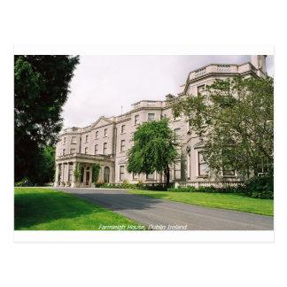 Dublin Irland, Farmleigh Haus, Phoenix-Park Postkarte