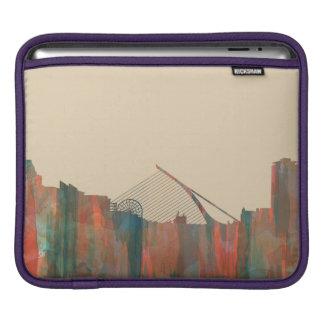 Dublin Irland Skyline-Navajo Sleeve Für iPads