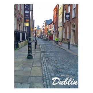 Dublin-Straße Postkarte